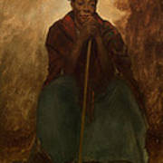 Portrait Of A Negress Art Print