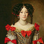 Portrait Of A Woman Art Print by Jacob Ferdinand Voet
