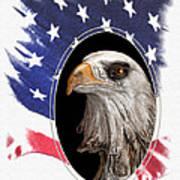 Portrait Of America Art Print by Tom Mc Nemar