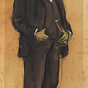 Portrait Of Arcadi Mas I Fondevila Art Print