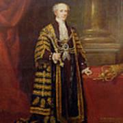 Portrait Of Colonel Sir Samuel Wilson, Lord Mayor Of London, 1838 Oil On Canvas Art Print