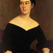 Portrait Of Cornelia Knott Miltenberger Art Print