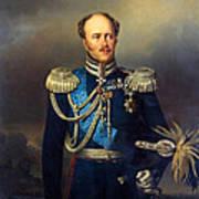Portrait Of Count Alexander Benkendorff Art Print