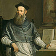 Portrait Of Daniele Barbaro Art Print