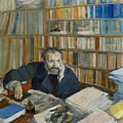 Portrait Of Edmond Duranty, 1879 Art Print