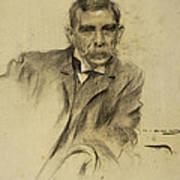 Portrait Of Emili Sala Art Print