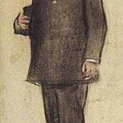 Portrait Of Emili Vilanova Art Print