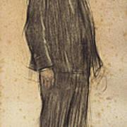 Portrait Of Enric Morera Art Print