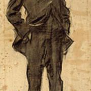 Portrait Of Ezequiel Boixet Art Print