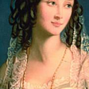 Portrait Of Furstin Susupolt Art Print