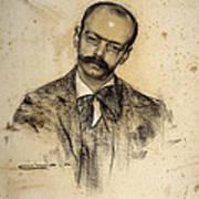 Portrait Of Gabriel Alomar Art Print