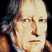 Portrait Of Georg Wilhelm Friedrich Hegel Art Print