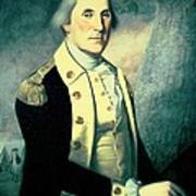 Portrait Of George Washington Art Print by James the Elder Peale
