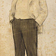 Portrait Of Hermenegild Miralles Art Print