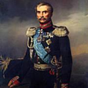 Portrait Of Illarion Vasilyevich Vasilchikov Art Print