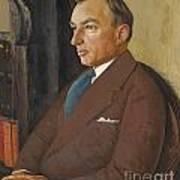 Portrait Of Isidor Polivnick Art Print