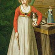 Portrait Of Isidore, 1810 Art Print
