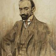 Portrait Of Jacinto Benavente Art Print