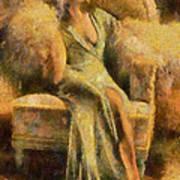 Portrait Of Jean Harlow Art Print