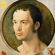 Portrait Of Johannes Kleberger Art Print