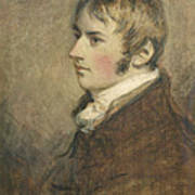 Portrait Of John Constable Aged Twenty Art Print