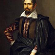 Portrait Of Kaspar Scioppius Art Print