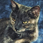 Portrait Of Kiara Art Print