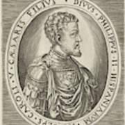 Portrait Of King Philip II Of Spain, Frans Huys Art Print