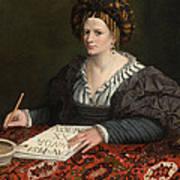 Portrait Of Laura Pisani Art Print
