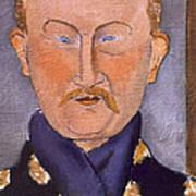 Portrait Of Leon Bakst Art Print