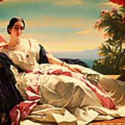 Portrait Of Leonilla Art Print