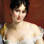 Portrait Of Madame Recamier  Art Print