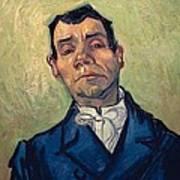 Portrait Of Man Art Print