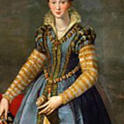 Portrait Of Maria De Medici Or Eleonora Di Garzia Di Toledo Art Print