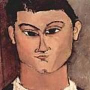 Portrait Of Moise Kisling Art Print