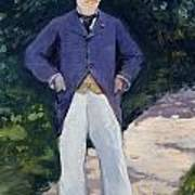 Portrait Of Monsieur Brun Art Print