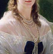 Portrait Of Sophie Troubetskoy  Art Print