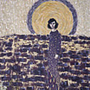 Portrait Of The Artist's Mother Art Print