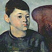 Portrait Of The Artists Son Art Print