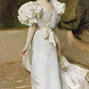 Portrait Of The Countess Of Clary Aldringen Art Print