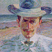 Portrait Of The Lawyer Art Print