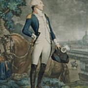 Portrait Of The Marquis De La Fayette Art Print