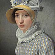 Portrait Of The Model Maddalena Or Anna Maria Uhden Art Print