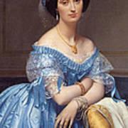Portrait Of The Princesse De Broglie Art Print
