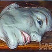 Portrait Sculpture Art Print