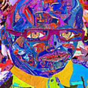 Portraiture Of Passion V2 Art Print