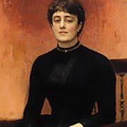 Portrat Of Jelizaveta Art Print