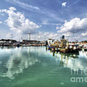Portsmouth Old Harbour  Art Print