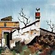 Portugal  Abandoned Nr  Loule Art Print