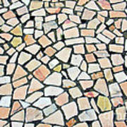 Portuguese Pavement Art Print
